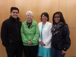 UAA CoEng Alumni Chapter Officers and Carol Comeau[1]