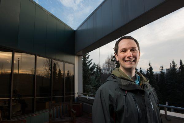 UAA civil engineering graduate student Kurt Meehleis