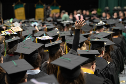 UAA graduates at fall 2019 commencement