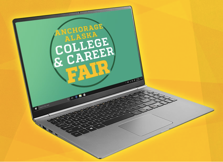 Anchorage Alaska College and Career Fair Logo