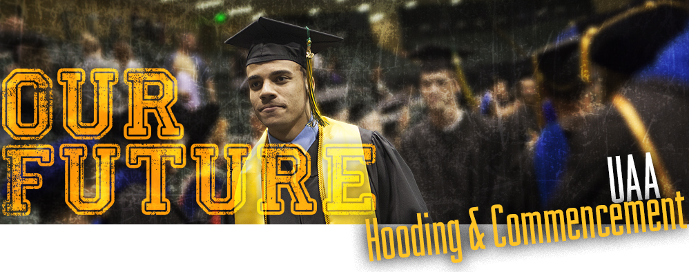Our Future hooding and commencement