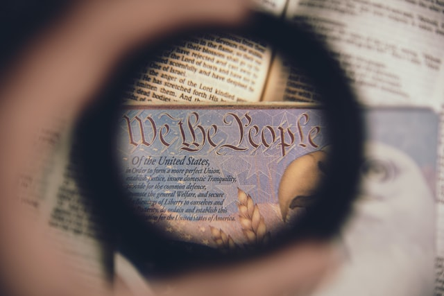 Constitution through a magnifying glass