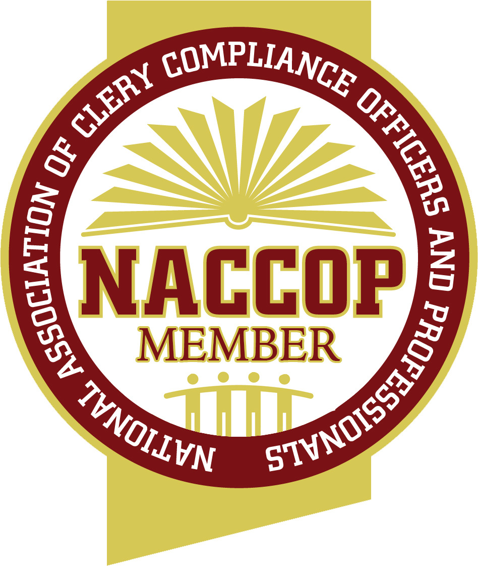 NACCOP Member: National Association of Clery Compliance Officers and Professionals
