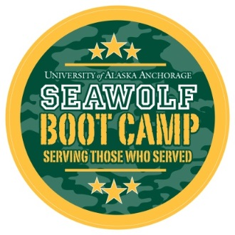 University of Alaska Anchorage Seawolf Bootcamp Logo