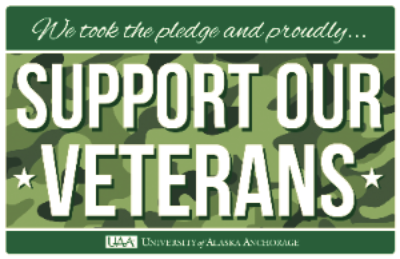 We took the pledge and proudly support our veterans